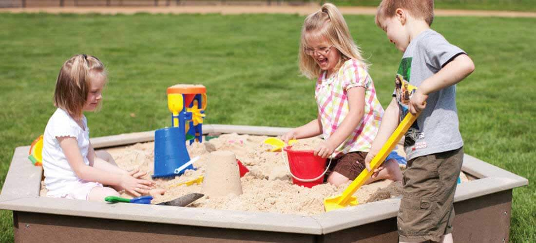Preschool and Toddler Sandbox