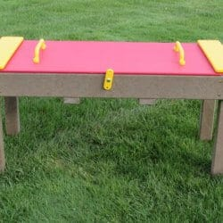 Sand Table, Lockable Lid, Maintenance-Free Plastic