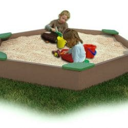Sandbox, Large with Corner Seats, Maintenance-Free Plastic