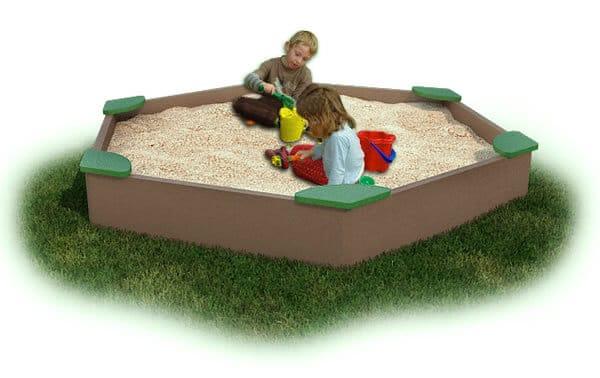 Sandbox Large With Corner Seats Plastic The