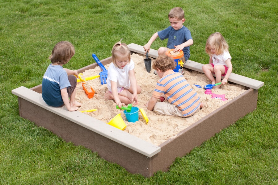 6' x 6' Sandbox