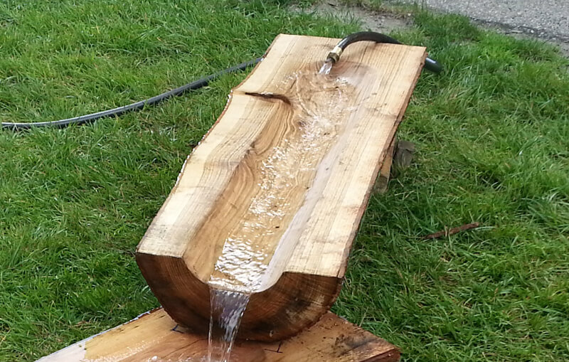 Water Log Trough