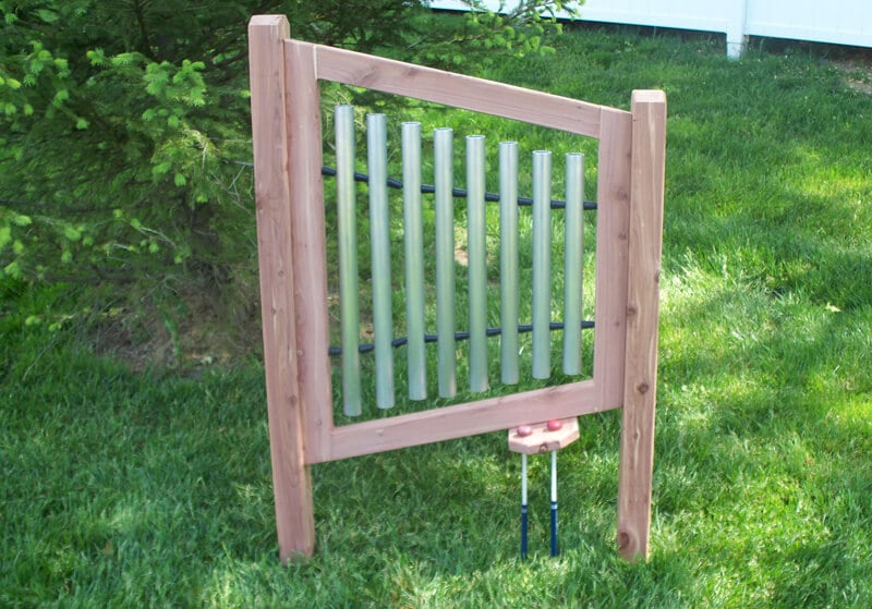 Chime Panel - Cedar