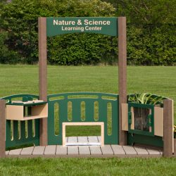 Nature and Science Learning Center, 3 Panels and Garden