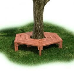 Wrap Around Tree Bench - Cedar