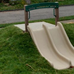 3' Double Hill Slide Package