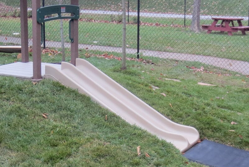 """30"""" Toddler Double Hill Slide Package"""