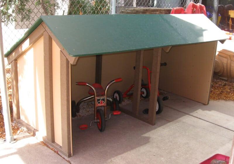 Trike Garage The Adventurous Child